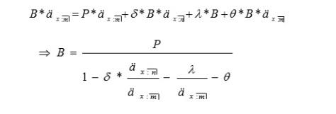 Fórmula de prima comercial